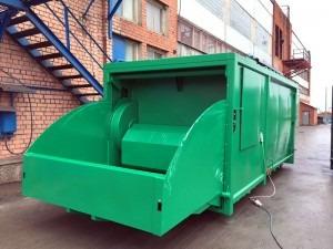presscontainer sharktainer green
