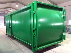 spate preso container sharktainer 30m3