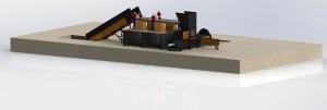 proiect 3 linie sortare si balotare deseuri reciclabile si municipale